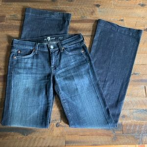 7 FOR ALL MANKIND dojo jeans✨sz 27